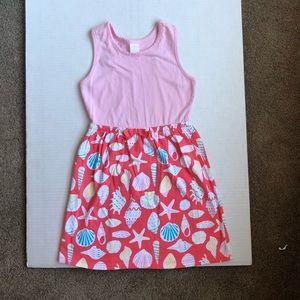 Gymboree girls tank top dress, size 7-8 M.